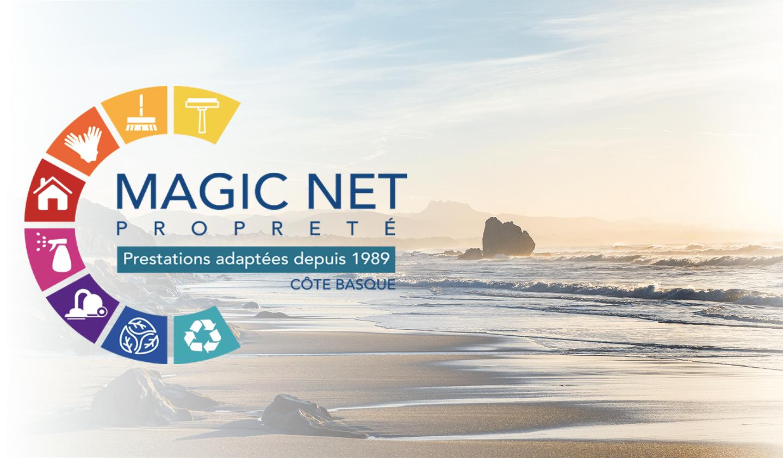 Plage de Biarritz où se trouve Magic net entreprise de nettoyage