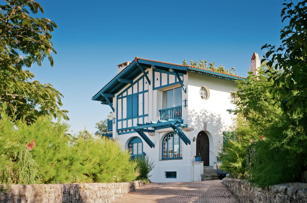 photo d'une maison secondaire à Biarritz au pays basque