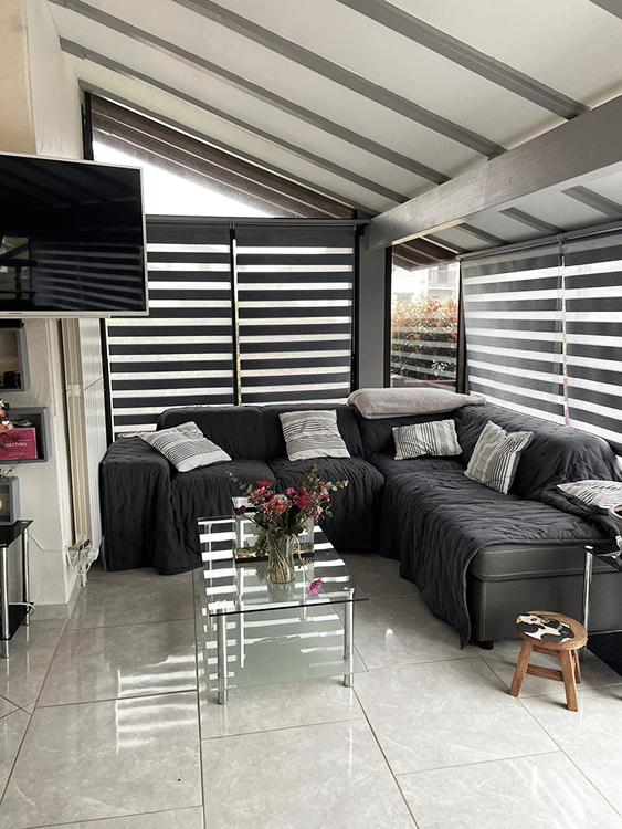 salon d'une maison secondaire à biarritz