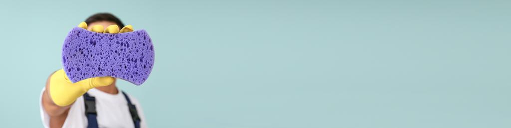 image d'une éponge pour marquer les engagements de magic net Biarritz