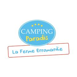 logo camping la ferme erromardie saint jean de luz