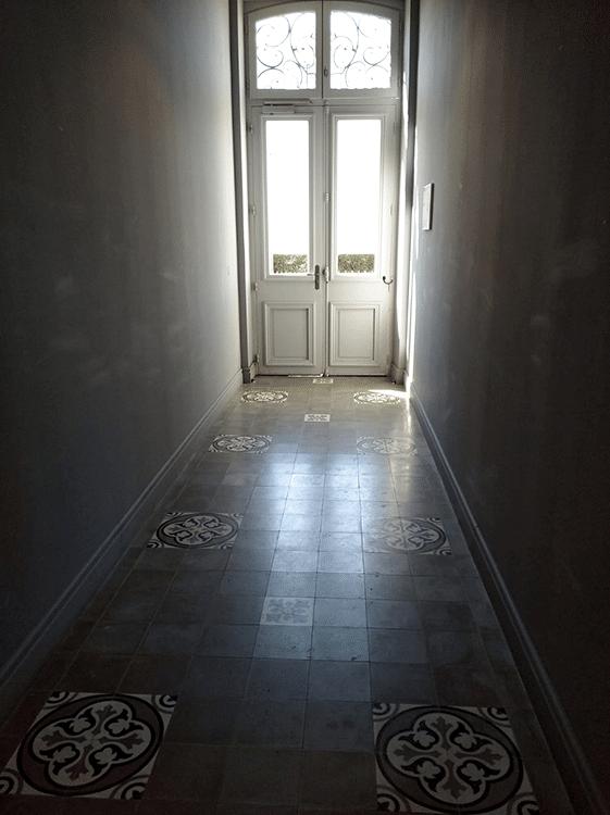 photo couloir copropriété à biarritz
