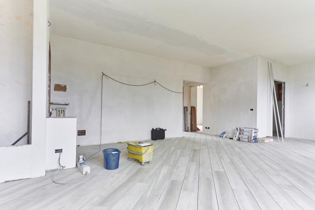 Remise une état d'un chantier de travaux à biarritz